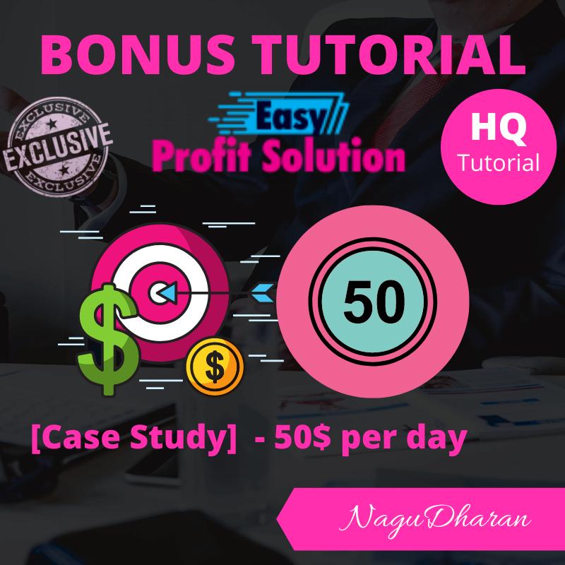 Easy Profit Solution Bonus #2