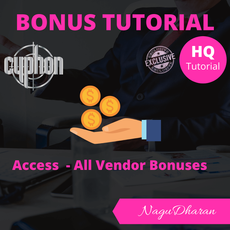 cyphon review bonus 5