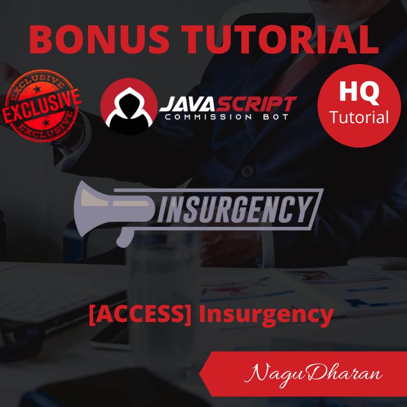 Javascript Commission bot bonus#4