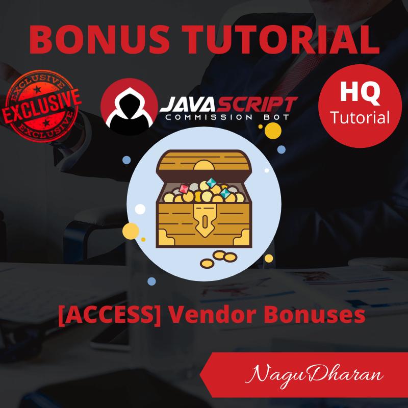 Javascript commission bot bonus#5