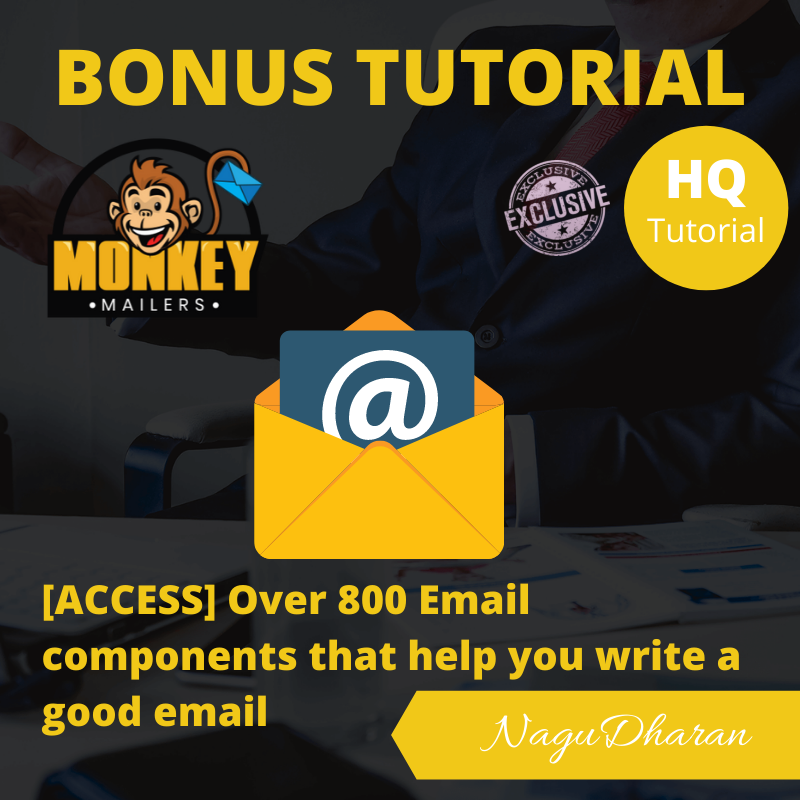 Monkey Mailers Review Bonus 3