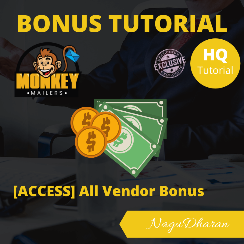 Monkey Mailers Review Bonus 5