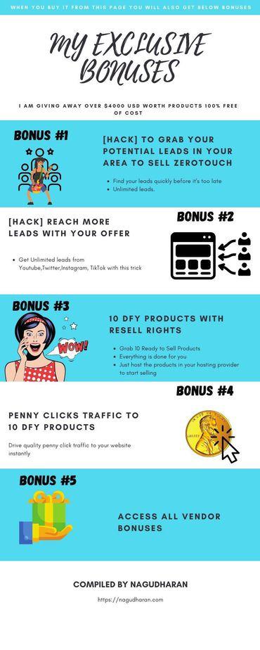 ZeroTouch Agency Bonuses