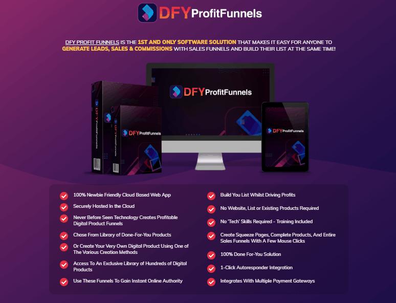 DFY Profit Funnels Review