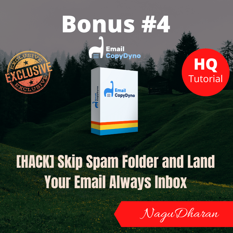 Email CopyDyno Bonus 4