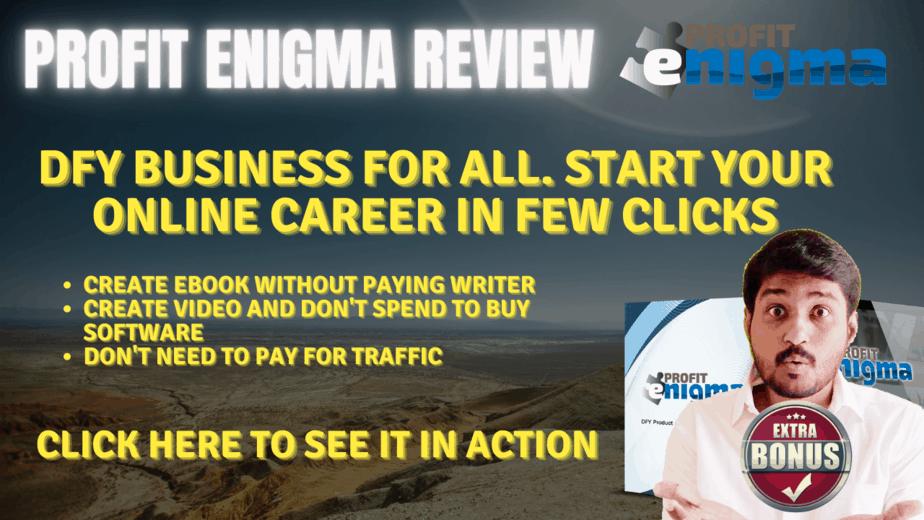 Profit Enigma Review