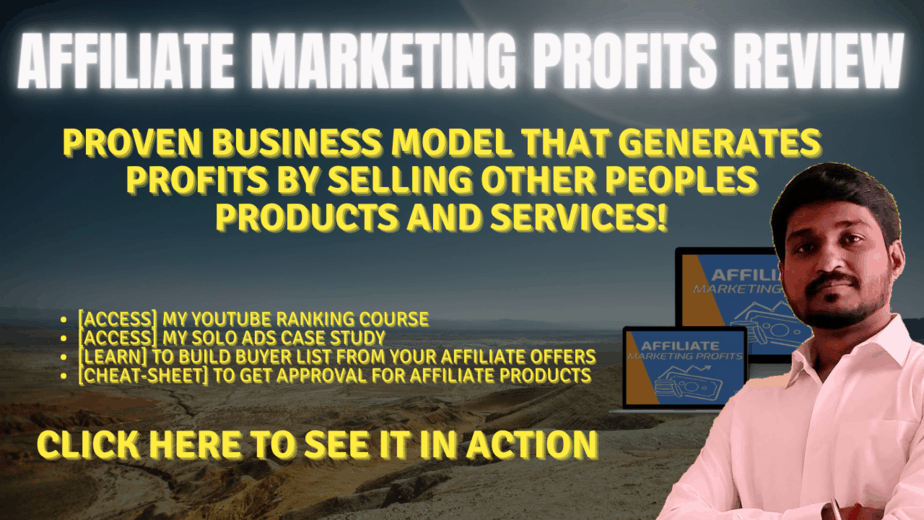 Affiliate Marketing Profits Review