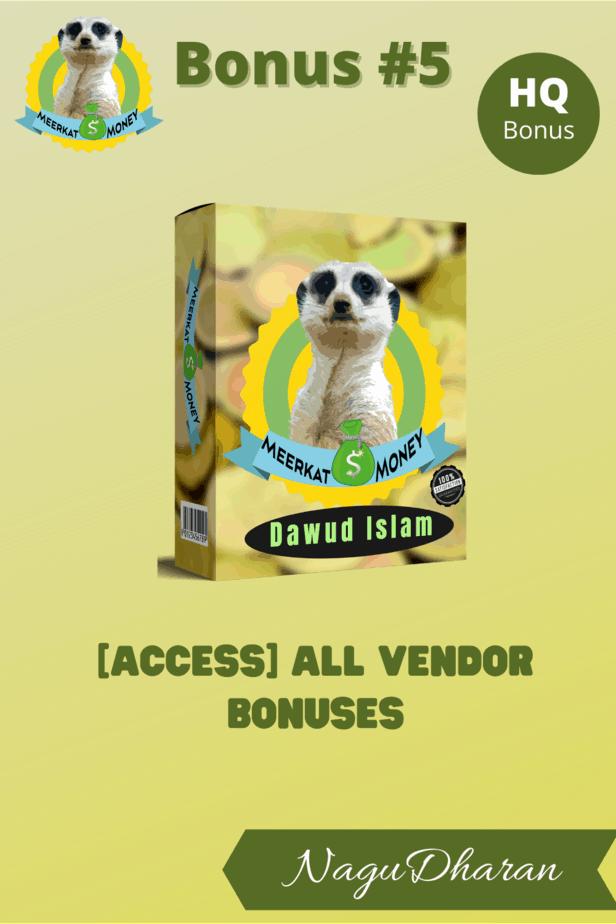 Meerkat money Review Bonus 5